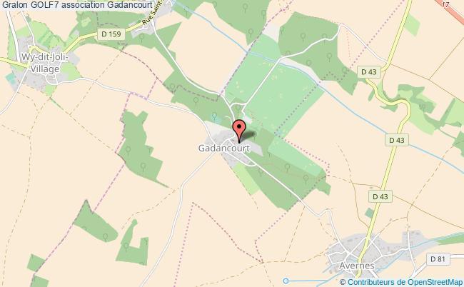 plan association Golf7 Gadancourt