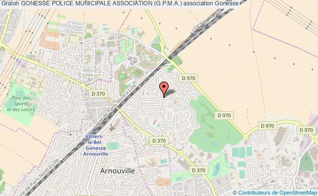 plan association Gonesse Police Municipale Association (g.p.m.a.) Gonesse