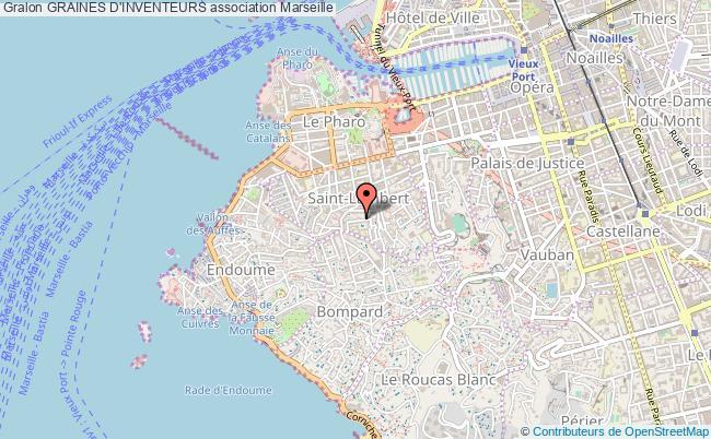 plan association Graines D'inventeurs Marseille