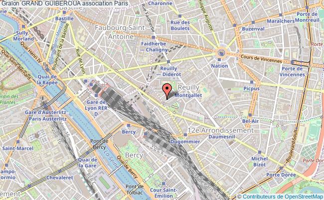 plan association Grand Guiberoua Paris