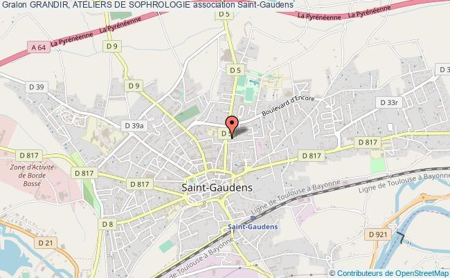 plan association Grandir, Ateliers De Sophrologie Saint-Gaudens