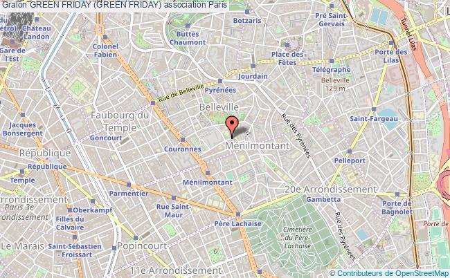 plan association Green Friday (green Friday)