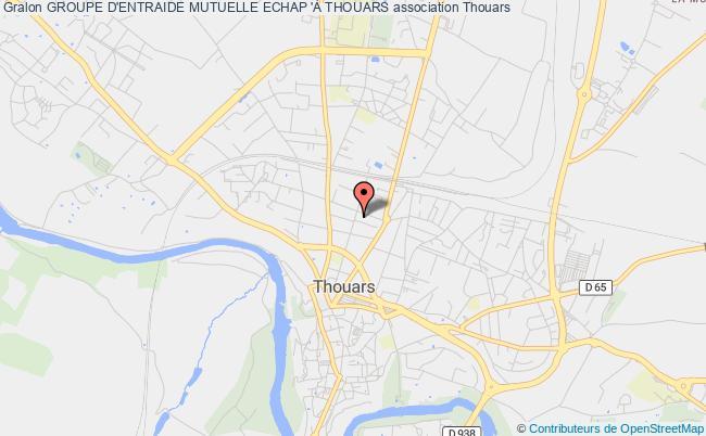 plan association Groupe D'entraide Mutuelle Echap 'À Thouars