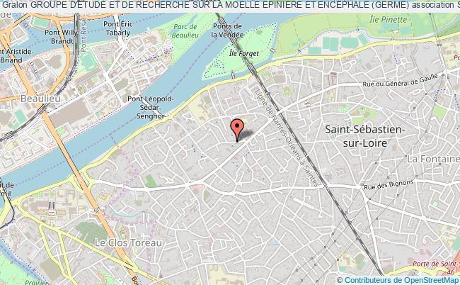 plan association Groupe D'etude Et De Recherche Sur La Moelle Epiniere Et Encephale (germe)