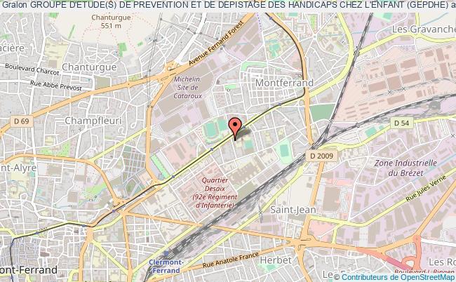 Groupe Detudes De Prevention Et De Depistage Des Handicaps Chez L