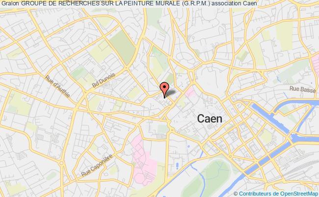 plan association Groupe De Recherches Sur La Peinture Murale (g.r.p.m.)