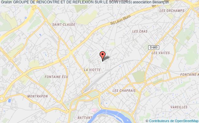 plan association Groupe De Rencontre Et De Reflexion Sur Le Soin (g2rs)