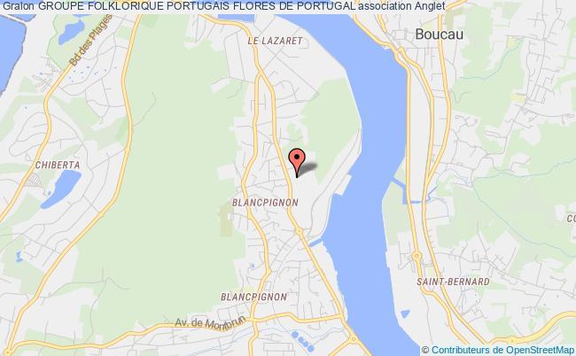 plan association Groupe Folklorique Portugais Flores De Portugal