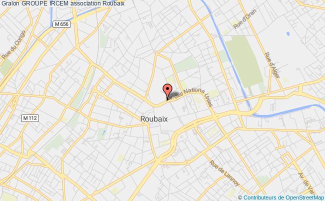 plan association Groupe Ircem Roubaix
