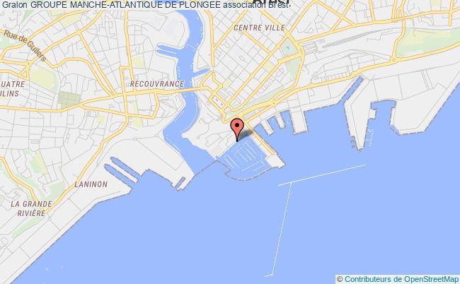 plan association Groupe Manche-atlantique De Plongee