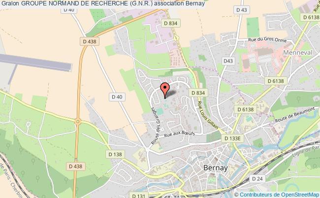 plan association Groupe Normand De Recherche (g.n.r.)