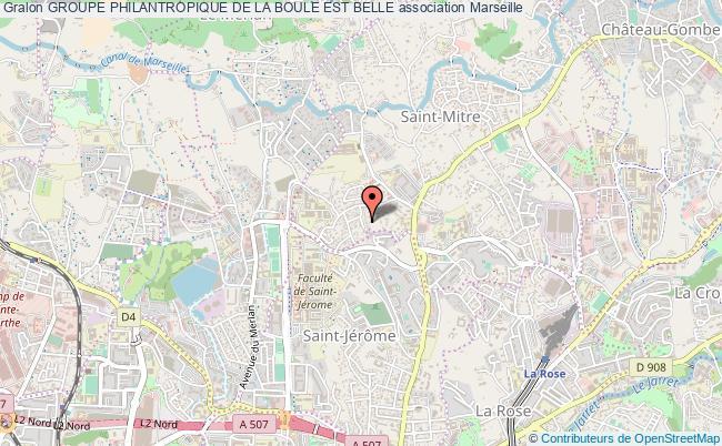 plan association Groupe Philantropique De La Boule Est Belle