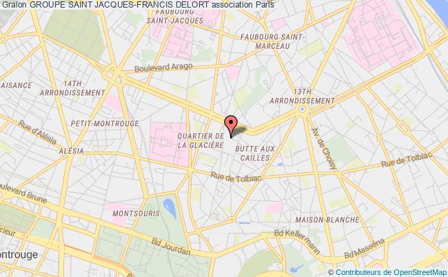 plan association Groupe Saint Jacques-francis Delort