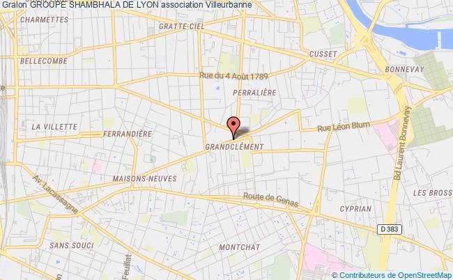 plan association Groupe Shambhala De Lyon