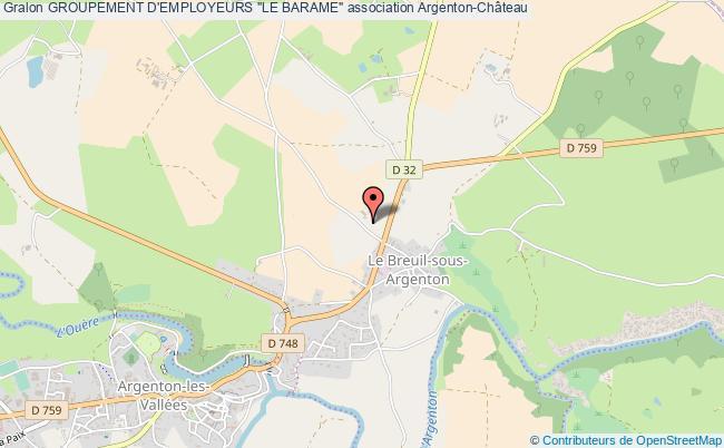 """plan association Groupement D'employeurs """"le Barame"""""""