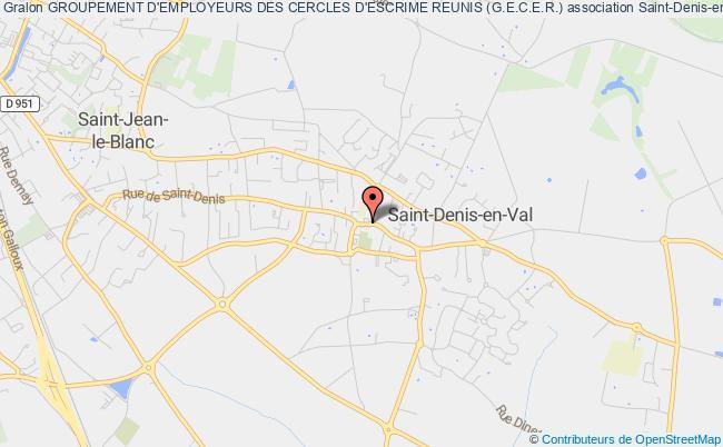 plan association Groupement D'employeurs Des Cercles D'escrime Reunis (g.e.c.e.r.)