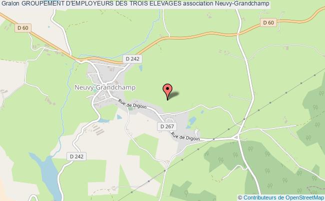 plan association Groupement D'employeurs Des Trois Elevages