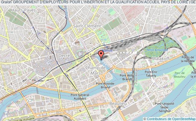 plan association Groupement D'employeurs Pour L'insertion Et La Qualification Accueil Pays De Loire (geiq Accueil Pays De Loire)