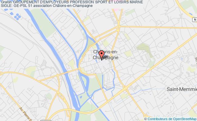 plan association Groupement D'employeurs Profession Sport Et Loisirs Marne