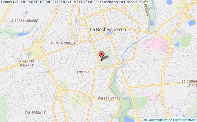 plan association Groupement D'employeurs Sport Vendee La    Roche-sur-Yon