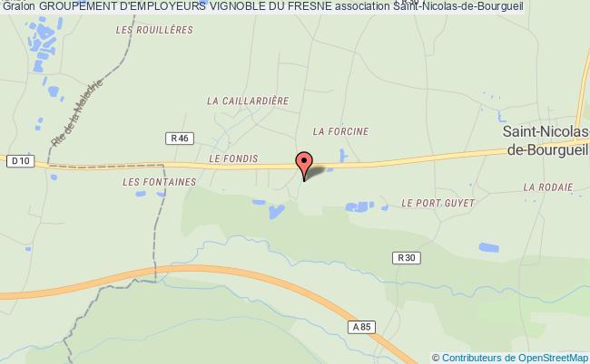 plan association Groupement D'employeurs Vignoble Du Fresne