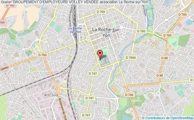 plan association Groupement D'employeurs Volley Vendee Roche-sur-Yon