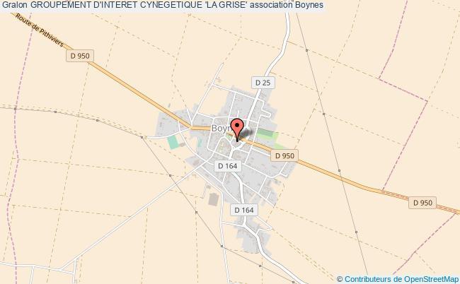 plan association Groupement D'interet Cynegetique 'la Grise'