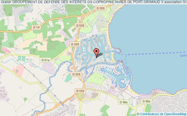 plan association Groupement De Defense Des Interets Ds Coproprietaires De Port-grimaud Ii