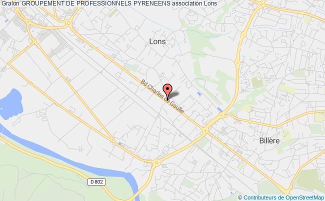 plan association Groupement De Professionnels Pyreneens