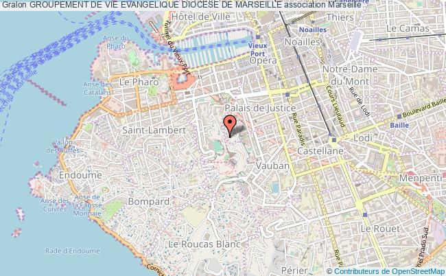 plan association Groupement De Vie Evangelique Diocese De Marseille