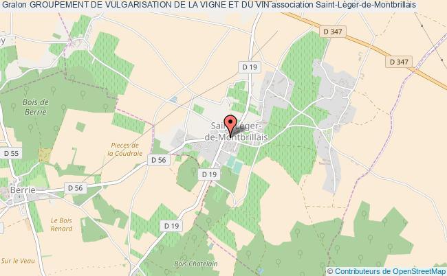 plan association Groupement De Vulgarisation De La Vigne Et Du Vin