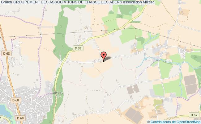 plan association Groupement Des Associations De Chasse Des Abers