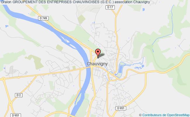 plan association Groupement Des Entreprises Chauvinoises (g.e.c.)