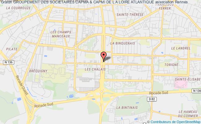 plan association Groupement Des Societaires Capma & Capmi De L A Loire Atlantique