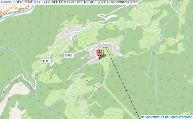 plan association Groupement Football Feminin Tarentaise (gfft)