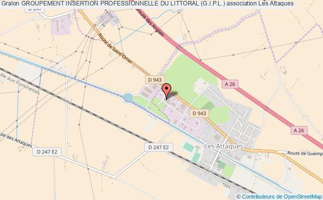 plan association Groupement Insertion Professionnelle Du Littoral (g.i.p.l.)