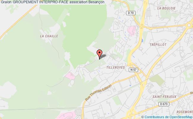 plan association Groupement Interpro-face Besançon