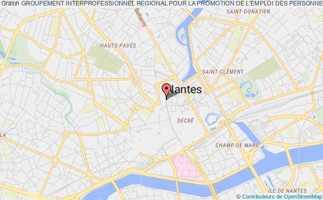 plan association Groupement Interprofessionnel Regional Pour La Promotion De L'emploi Des Personnes Handicapees Des Pays De La Loire (girpeh Pays De La Loire)