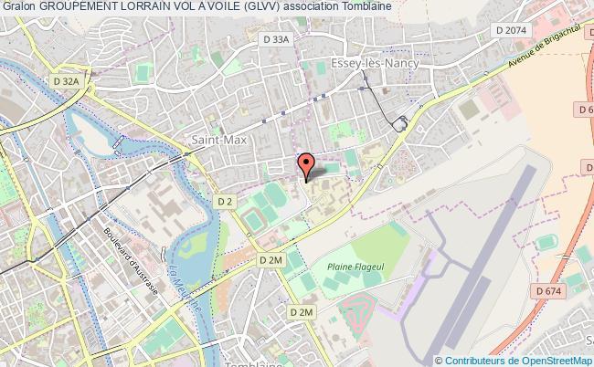 plan association Groupement Lorrain Vol A Voile (glvv)