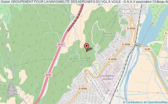 plan association Groupement Pour La Navigabilite Des Aeronefs Du Vol Voile - G.n.a.v