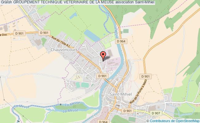 plan association Groupement Technique Veterinaire De La Meuse