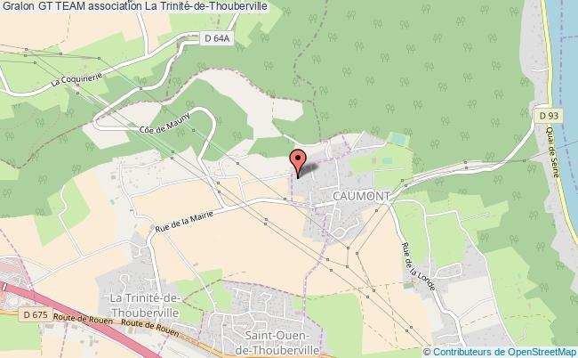plan association Gt Team La    Trinité-de-Thouberville