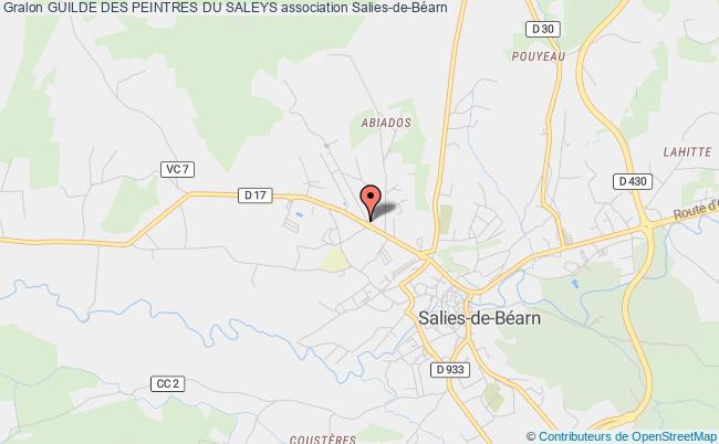 plan association Guilde Des Peintres Du Saleys