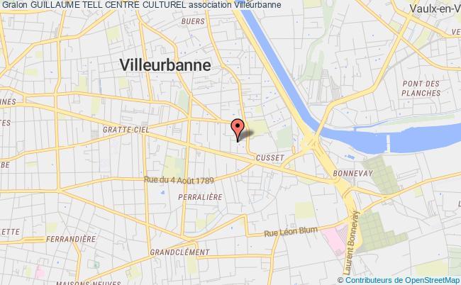 plan association Guillaume Tell Centre Culturel