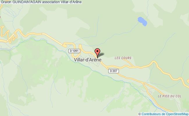 plan association Guindain'again Villar-d'Arêne
