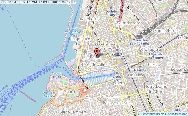 plan association Gulf Stream 13 Marseille