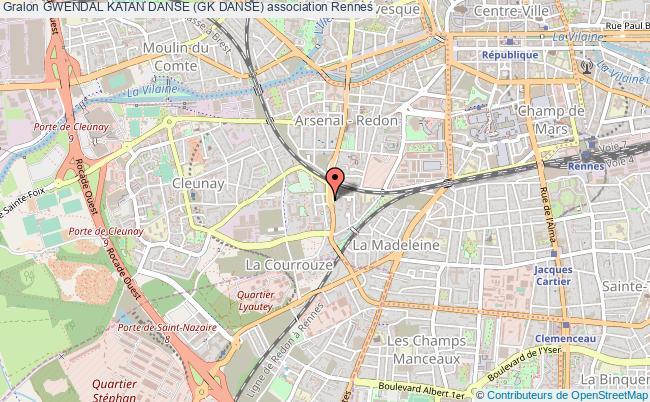 plan association Gwendal Katan Danse (gk Danse) Rennes