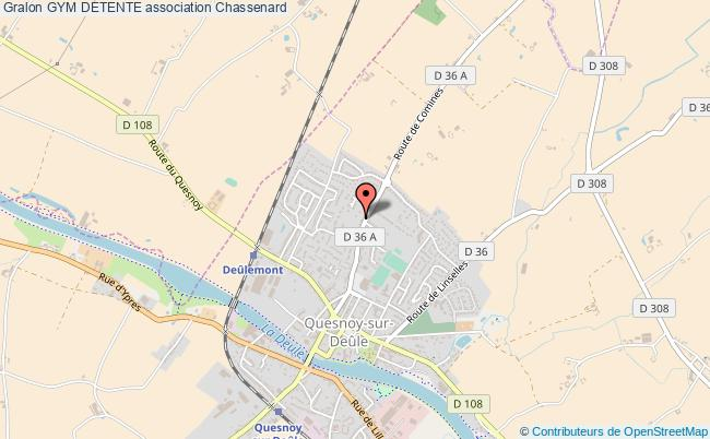 plan association Gym Detente Chassenard