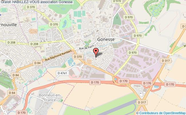 plan association Habillez-vous Gonesse