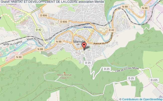 plan association Habitat Et Developpement De La Lozere